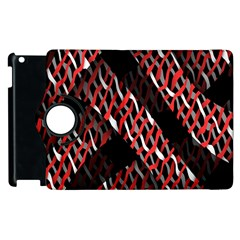 Weave And Knit Pattern Seamless Apple iPad 3/4 Flip 360 Case