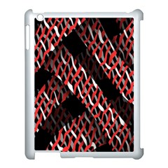 Weave And Knit Pattern Seamless Apple Ipad 3/4 Case (white)