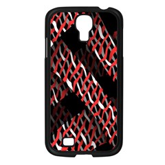 Weave And Knit Pattern Seamless Samsung Galaxy S4 I9500/ I9505 Case (Black)