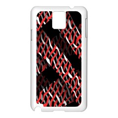 Weave And Knit Pattern Seamless Samsung Galaxy Note 3 N9005 Case (White)