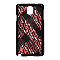 Weave And Knit Pattern Seamless Samsung Galaxy Note 3 Neo Hardshell Case (black)