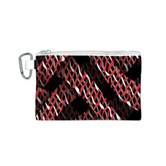 Weave And Knit Pattern Seamless Canvas Cosmetic Bag (s)