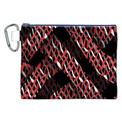 Weave And Knit Pattern Seamless Canvas Cosmetic Bag (XXL)