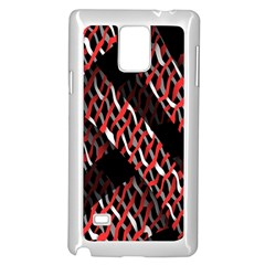 Weave And Knit Pattern Seamless Samsung Galaxy Note 4 Case (white)