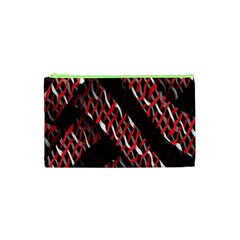 Weave And Knit Pattern Seamless Cosmetic Bag (XS)