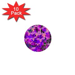 Watercolour Paint Dripping Ink 1  Mini Buttons (10 pack)