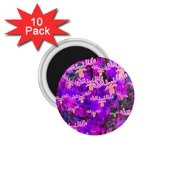 Watercolour Paint Dripping Ink 1.75  Magnets (10 pack)