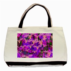 Watercolour Paint Dripping Ink Basic Tote Bag