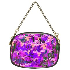 Watercolour Paint Dripping Ink Chain Purses (One Side)