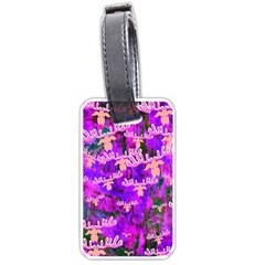 Watercolour Paint Dripping Ink Luggage Tags (two Sides)