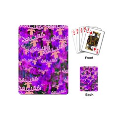 Watercolour Paint Dripping Ink Playing Cards (Mini)