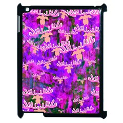 Watercolour Paint Dripping Ink Apple Ipad 2 Case (black)