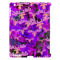 Watercolour Paint Dripping Ink Apple Ipad 3/4 Hardshell Case (compatible With Smart Cover)
