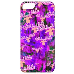 Watercolour Paint Dripping Ink Apple Iphone 5 Classic Hardshell Case