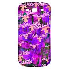 Watercolour Paint Dripping Ink Samsung Galaxy S3 S III Classic Hardshell Back Case