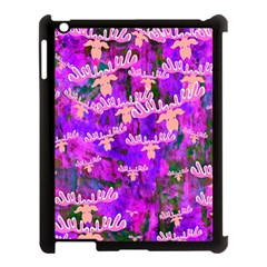 Watercolour Paint Dripping Ink Apple Ipad 3/4 Case (black)