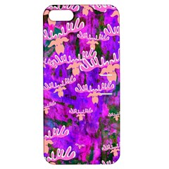 Watercolour Paint Dripping Ink Apple iPhone 5 Hardshell Case with Stand