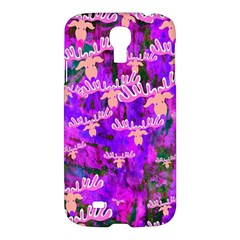 Watercolour Paint Dripping Ink Samsung Galaxy S4 I9500/i9505 Hardshell Case