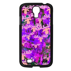 Watercolour Paint Dripping Ink Samsung Galaxy S4 I9500/ I9505 Case (black)