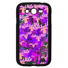 Watercolour Paint Dripping Ink Samsung Galaxy Grand DUOS I9082 Case (Black)