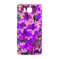 Watercolour Paint Dripping Ink Samsung Galaxy Alpha Hardshell Back Case