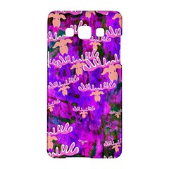 Watercolour Paint Dripping Ink Samsung Galaxy A5 Hardshell Case