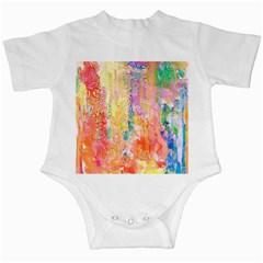 Watercolour Watercolor Paint Ink Infant Creepers