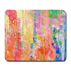 Watercolour Watercolor Paint Ink Large Mousepads