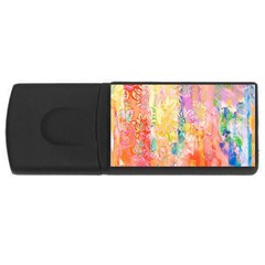 Watercolour Watercolor Paint Ink USB Flash Drive Rectangular (2 GB)