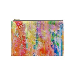 Watercolour Watercolor Paint Ink Cosmetic Bag (medium)
