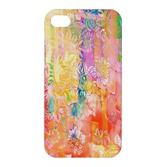 Watercolour Watercolor Paint Ink Apple Iphone 4/4s Premium Hardshell Case