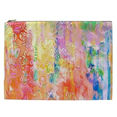 Watercolour Watercolor Paint Ink Cosmetic Bag (xxl)