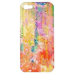Watercolour Watercolor Paint Ink Apple iPhone 5 Hardshell Case