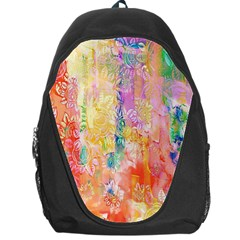 Watercolour Watercolor Paint Ink Backpack Bag