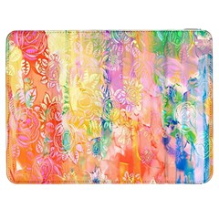 Watercolour Watercolor Paint Ink Samsung Galaxy Tab 7  P1000 Flip Case