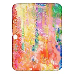 Watercolour Watercolor Paint Ink Samsung Galaxy Tab 3 (10 1 ) P5200 Hardshell Case