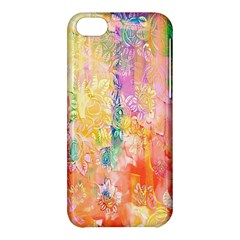Watercolour Watercolor Paint Ink Apple Iphone 5c Hardshell Case