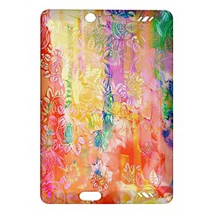 Watercolour Watercolor Paint Ink Amazon Kindle Fire Hd (2013) Hardshell Case