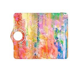 Watercolour Watercolor Paint Ink Kindle Fire Hdx 8 9  Flip 360 Case