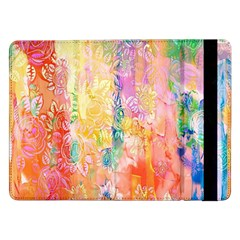 Watercolour Watercolor Paint Ink Samsung Galaxy Tab Pro 12 2  Flip Case