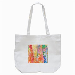 Watercolour Watercolor Paint Ink Tote Bag (white)