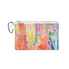 Watercolour Watercolor Paint Ink Canvas Cosmetic Bag (s)