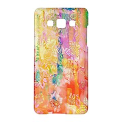 Watercolour Watercolor Paint Ink Samsung Galaxy A5 Hardshell Case