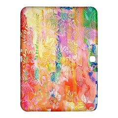 Watercolour Watercolor Paint Ink Samsung Galaxy Tab 4 (10 1 ) Hardshell Case
