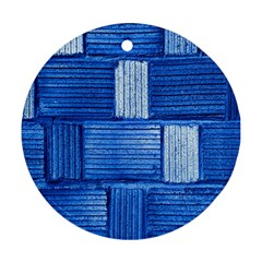 Wall Tile Design Texture Pattern Ornament (round)