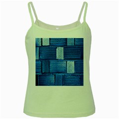 Wall Tile Design Texture Pattern Green Spaghetti Tank