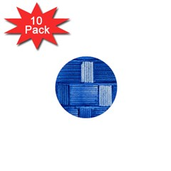 Wall Tile Design Texture Pattern 1  Mini Buttons (10 pack)
