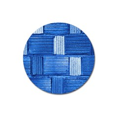 Wall Tile Design Texture Pattern Magnet 3  (Round)