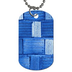Wall Tile Design Texture Pattern Dog Tag (Two Sides)