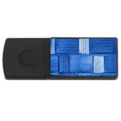Wall Tile Design Texture Pattern USB Flash Drive Rectangular (2 GB)
